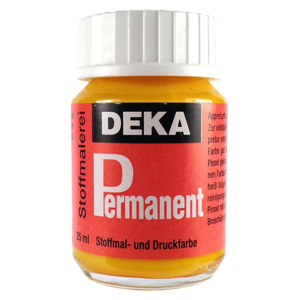 Tygfärg DEKA Perm. 50 ml Gul  2005 (6F)