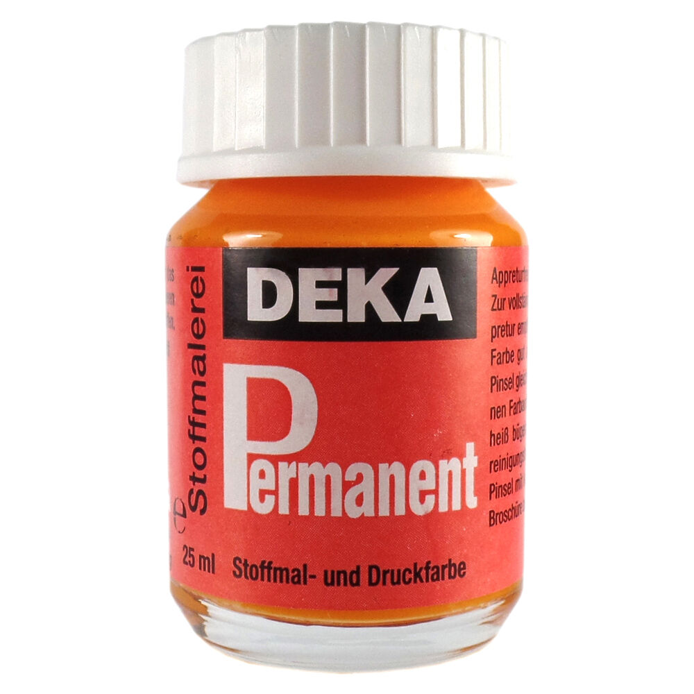 Tygfärg DEKA Perm. 50 ml Mandarin  2008 (6F)