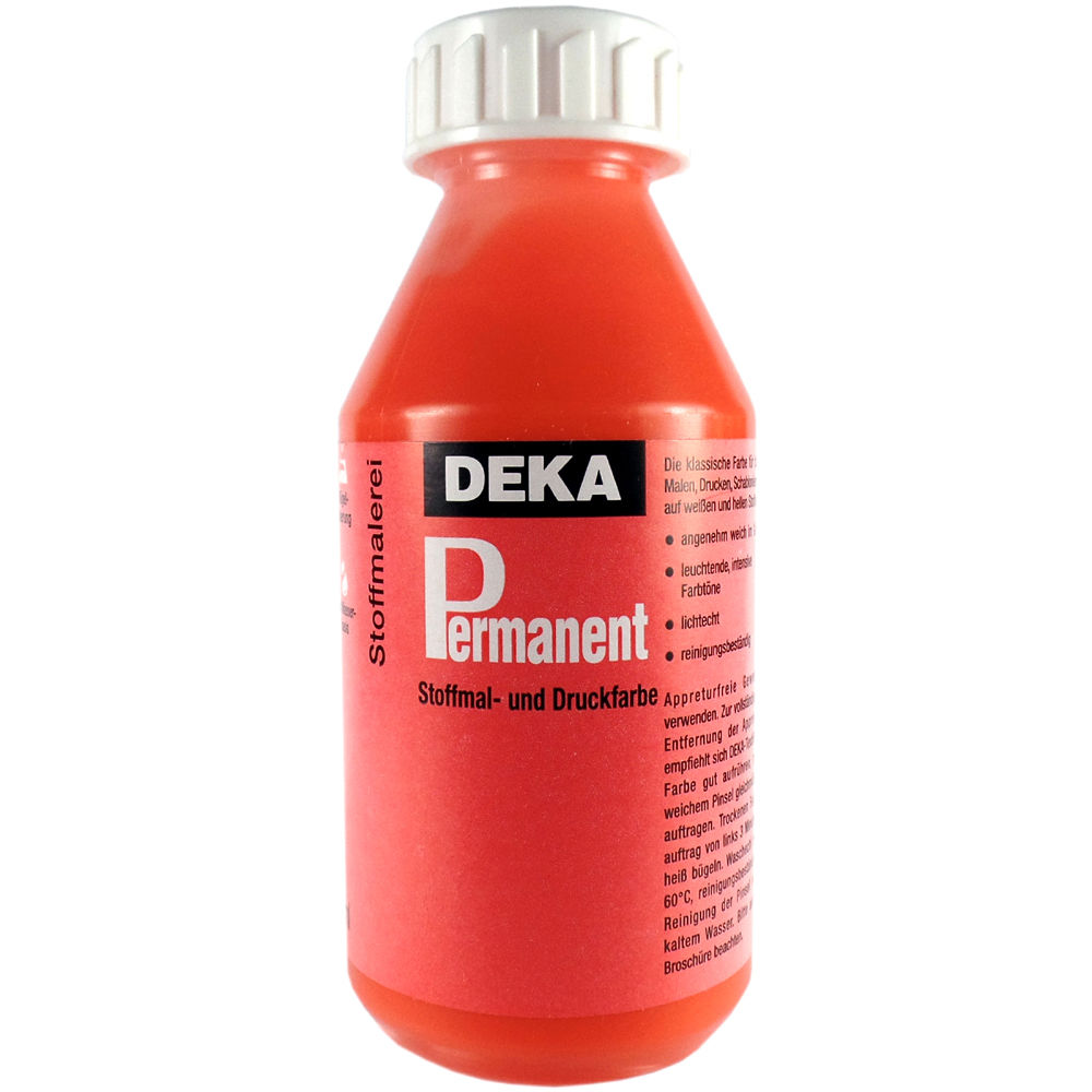 Tygfärg DEKA Perm. 125 ml Orange  2010