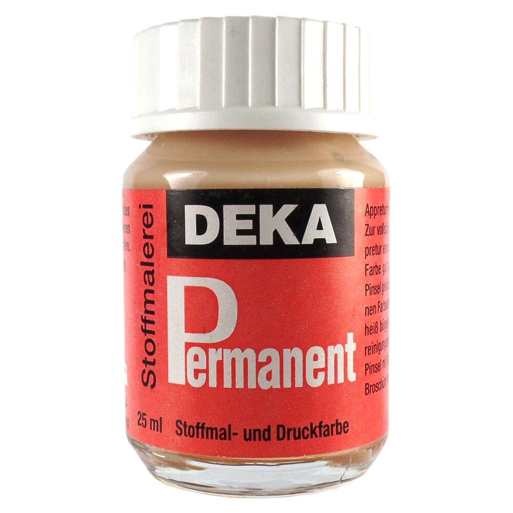 Tygfärg DEKA Perm. 50 ml Hud  2013 (6F)