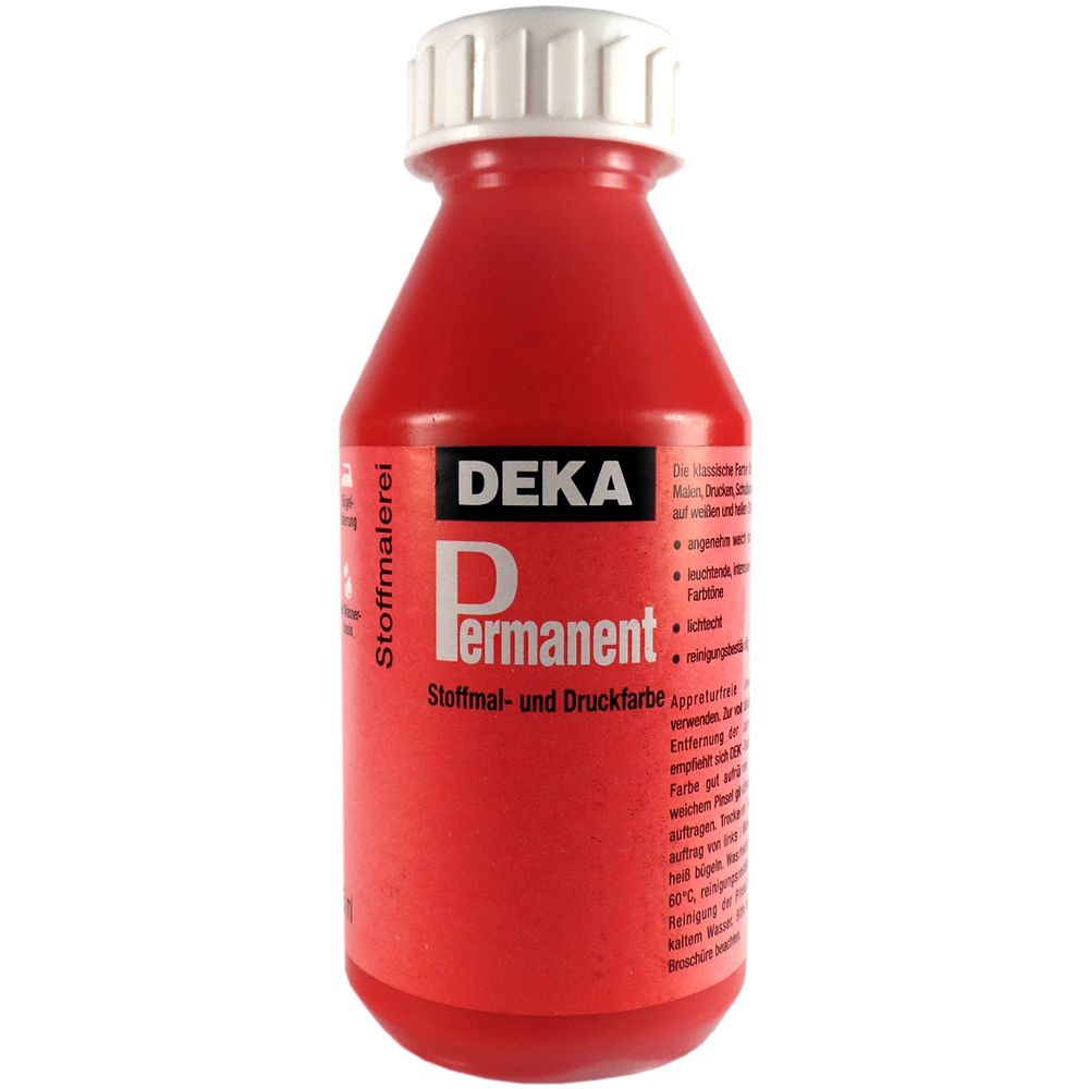 Tygfärg DEKA Perm. 125 ml Scharlakanröd  2017