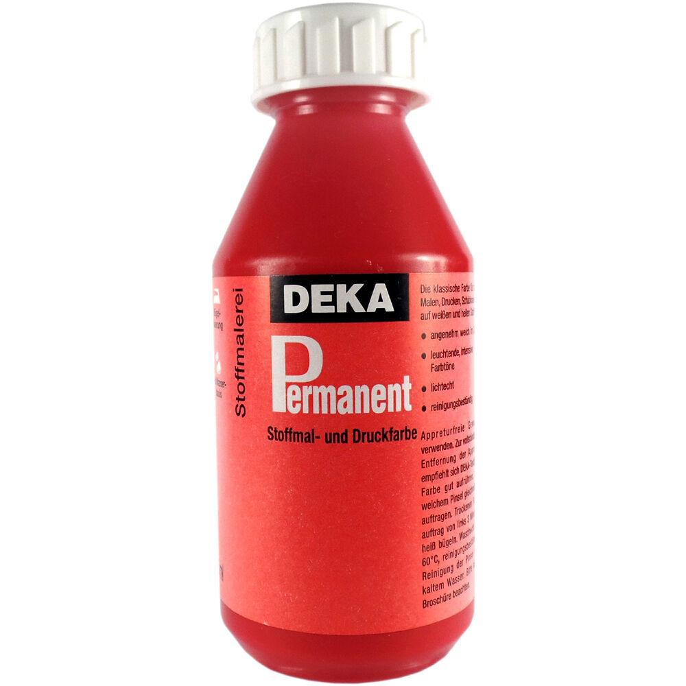 Tygfärg DEKA Perm. 125 ml Karminröd  2020