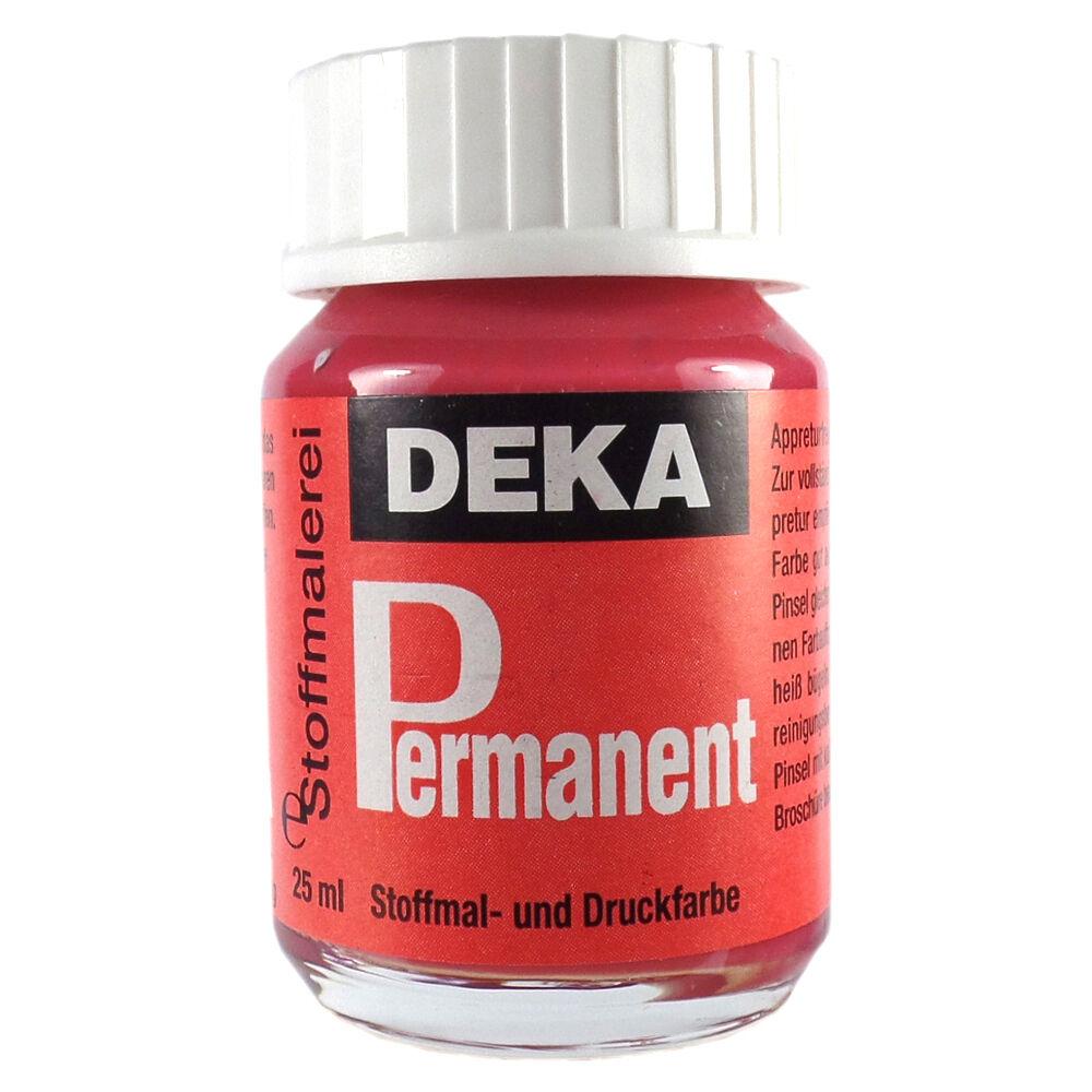 Tygfärg DEKA Perm. 50 ml Rosenträ  2025 (6F)