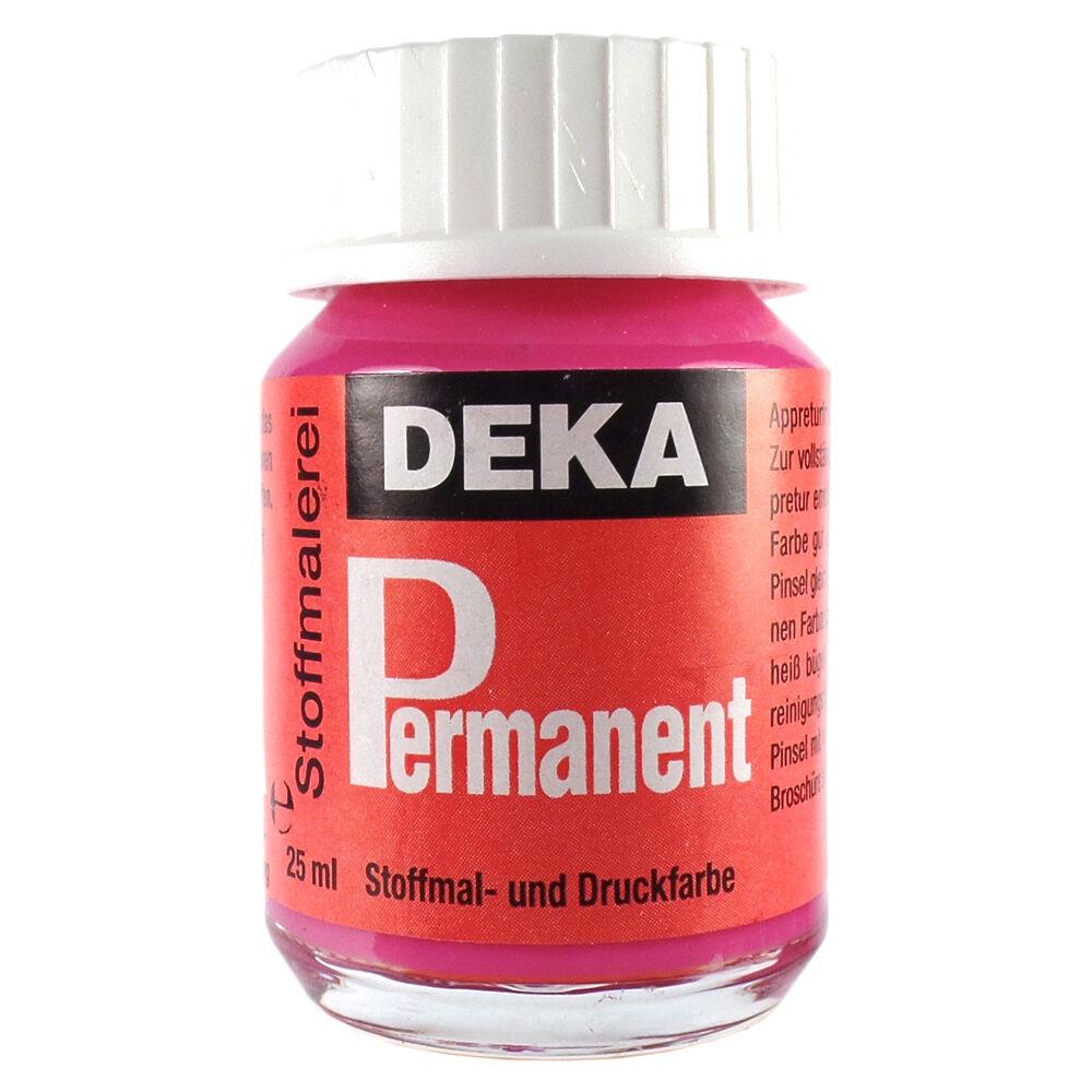 Tygfärg DEKA Perm. 50 ml Rosé  2028 (6F)