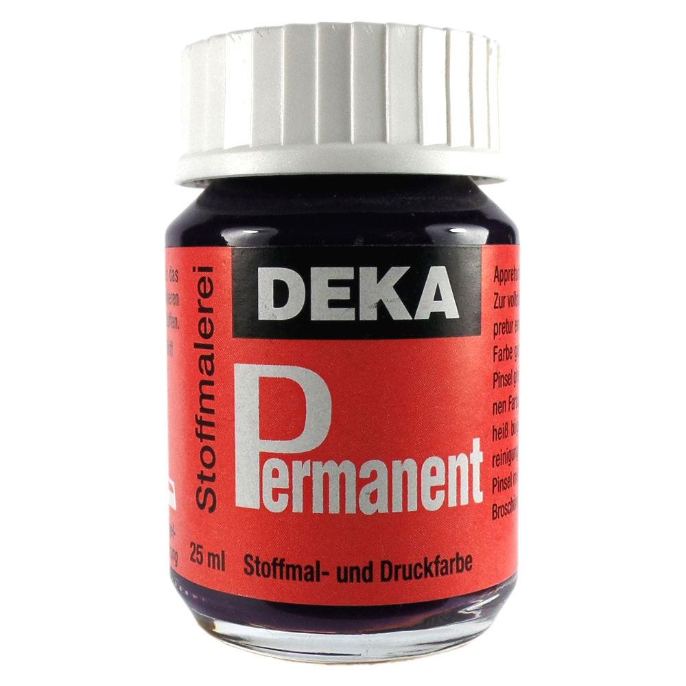 Tygfärg DEKA Perm. 50 ml Aubergine  2040 (6F)