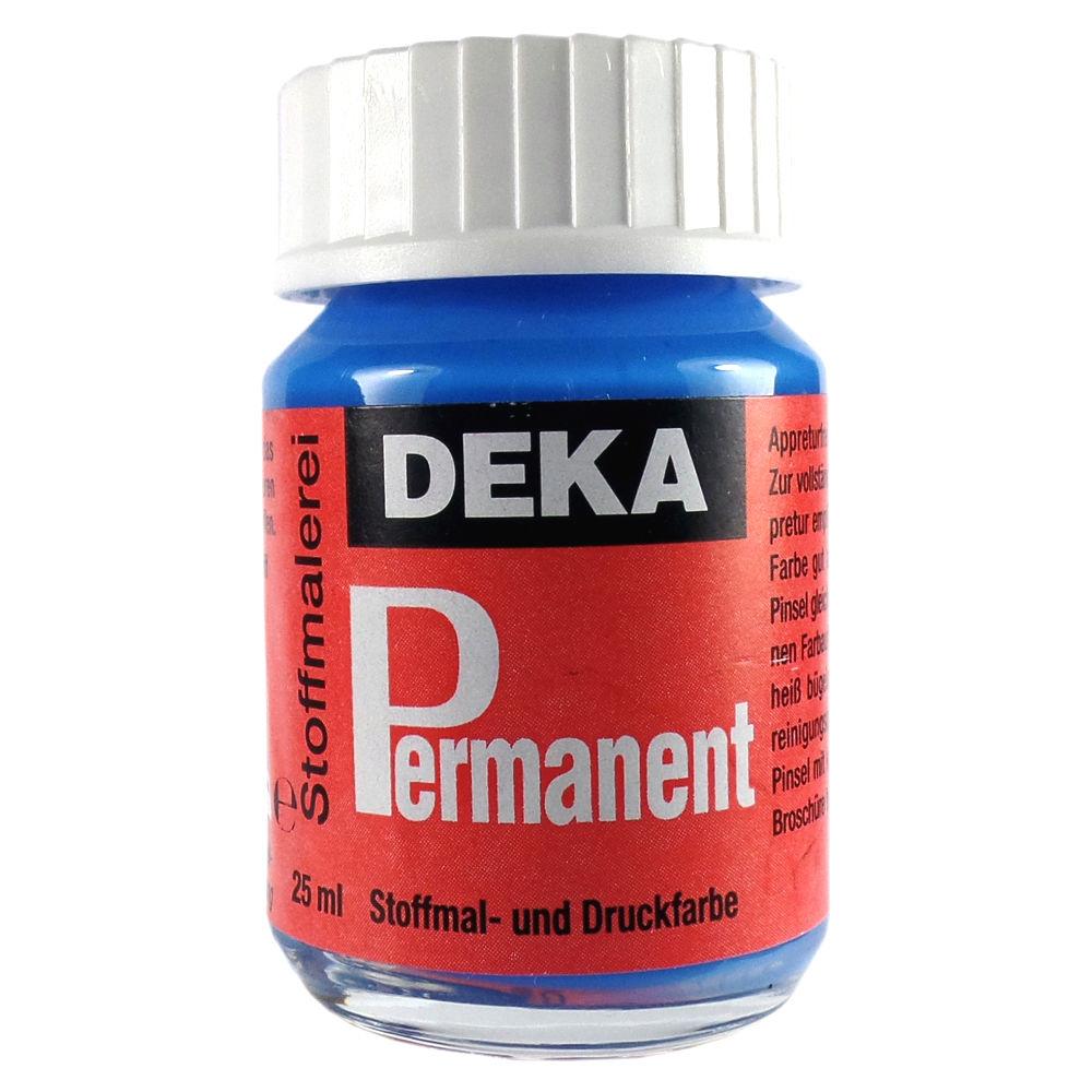 Tygfärg DEKA Perm. 50 ml Ljusblå 2042 (6F)