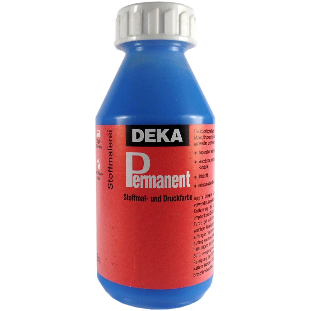 Tygfärg DEKA Perm. 125ml Ljusblå 2042