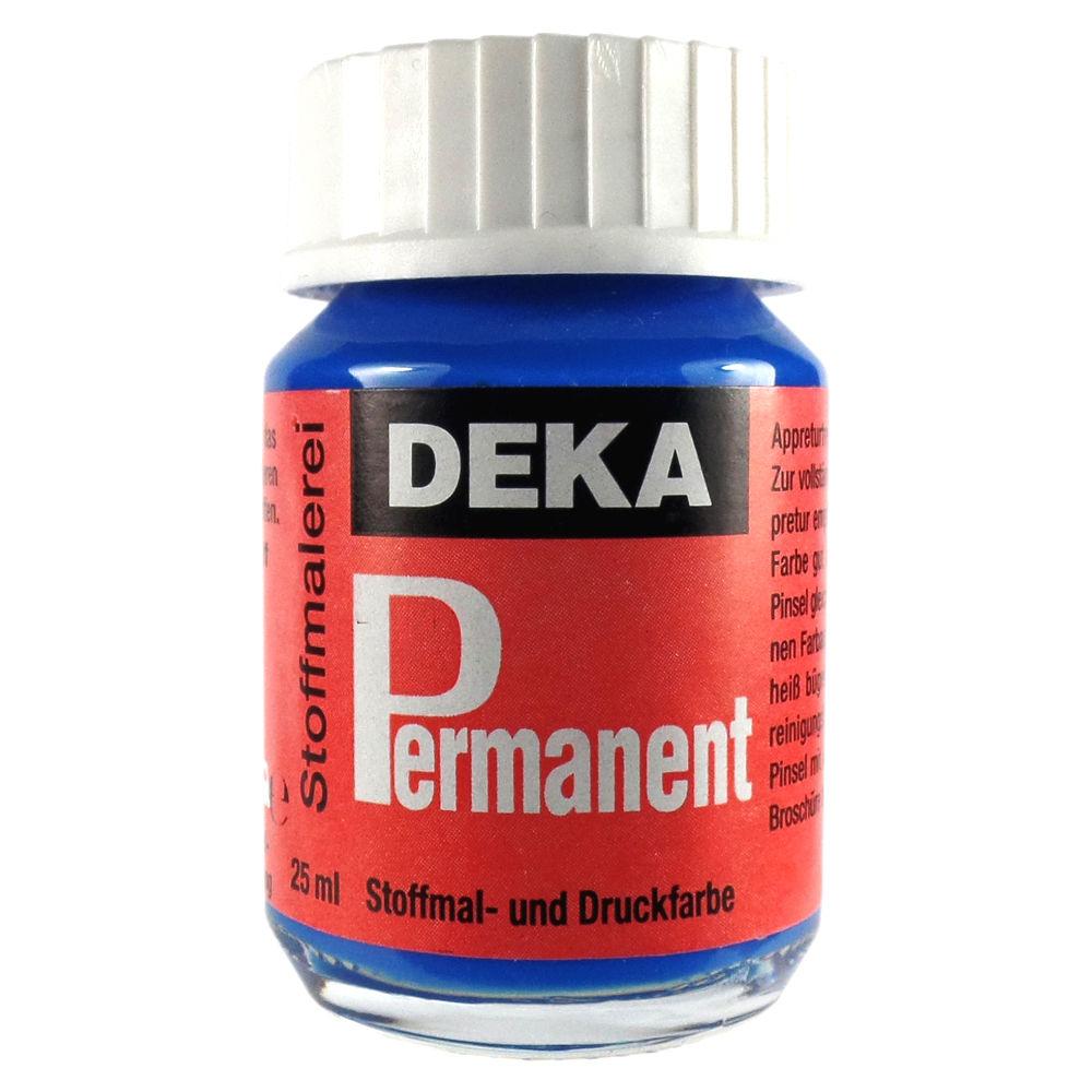 Tygfärg DEKA Perm. 50 ml Azur  2047 (6F)