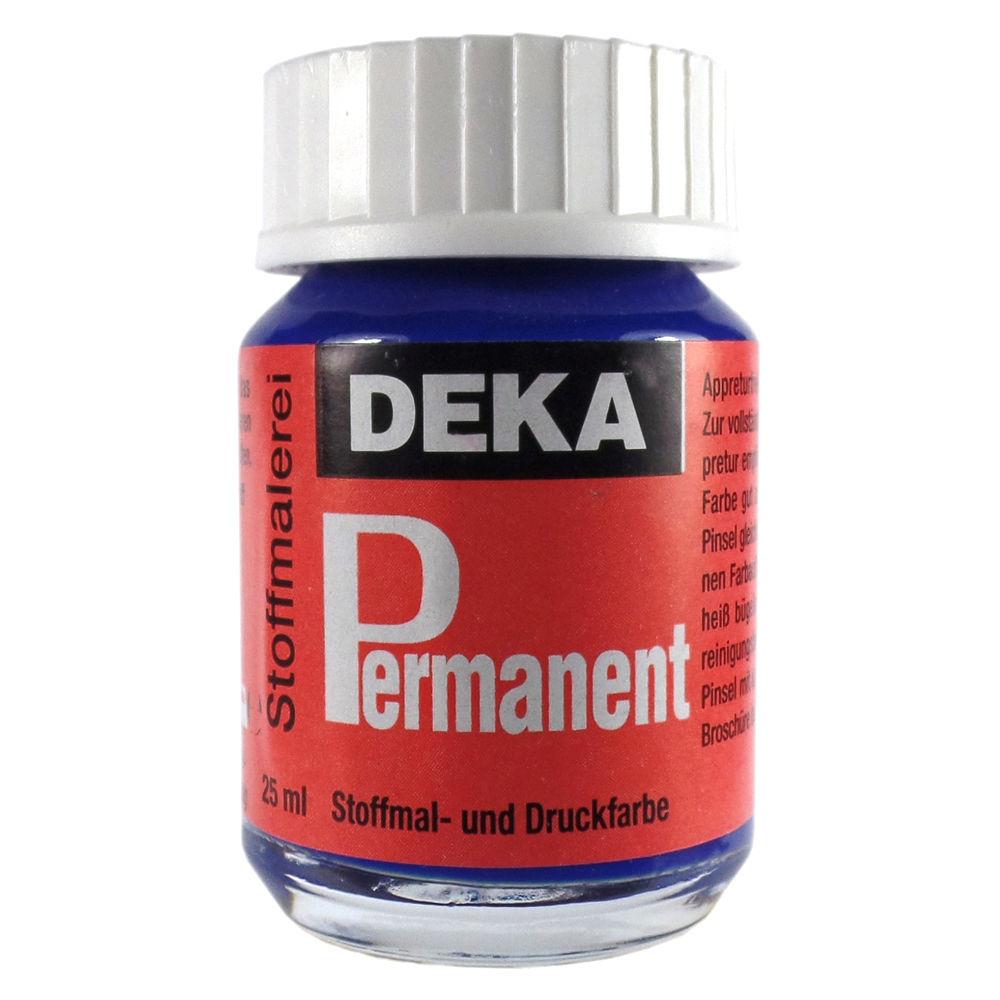 Tygfärg DEKA Perm. 50 ml Blå  2049 (6F)