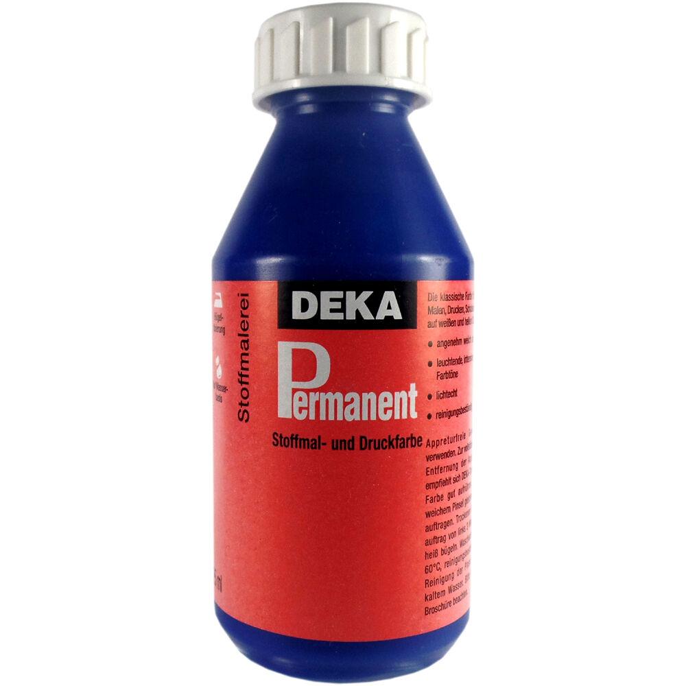 Tygfärg DEKA Perm. 125 ml Blå  2049