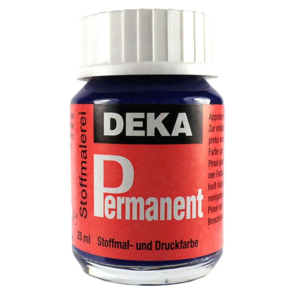Tygfärg DEKA Perm. 50 ml Marinblå  2051 (6F)