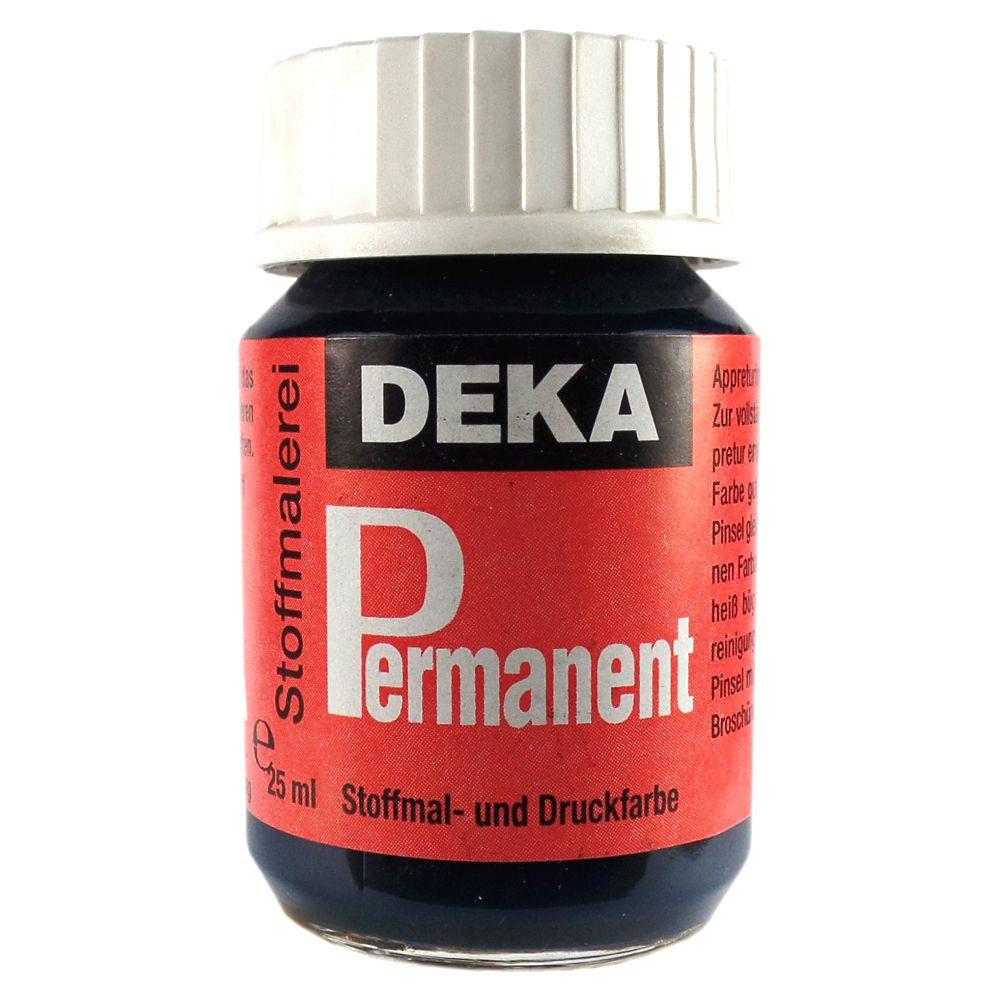 Tygfärg DEKA Perm. 50 ml Petrol  2057 (6F)
