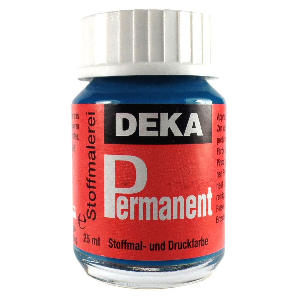 Tygfärg DEKA Perm. 50 ml Turkos  2058 (6F)