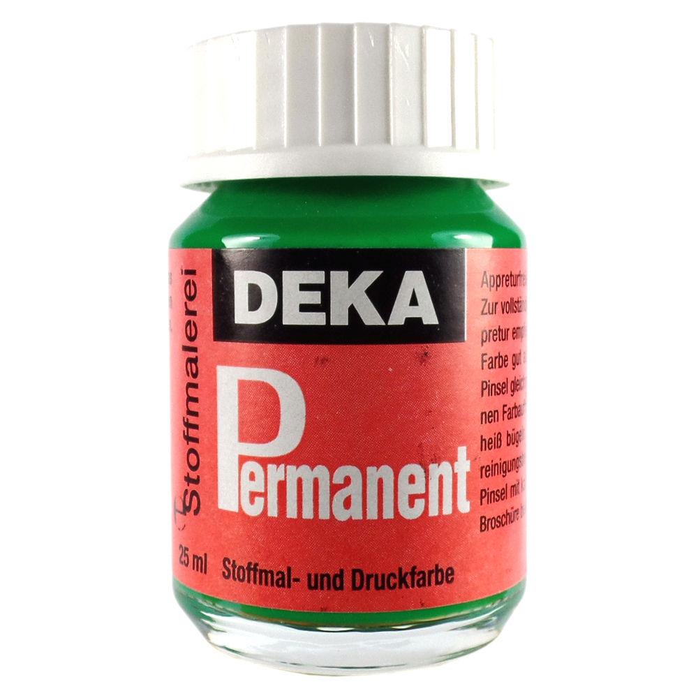 Tygfärg DEKA Perm. 50 ml Ljusgrön  2062 (6F)