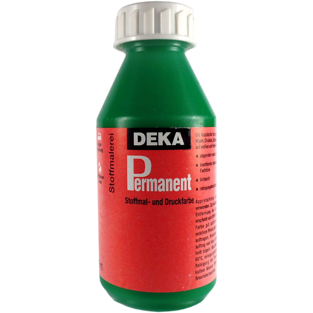 Tygfärg DEKA Perm. 125 ml Ljusgrön  2062