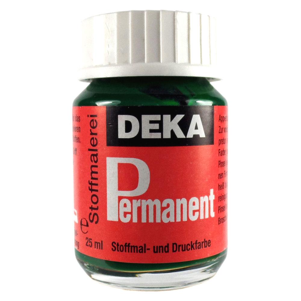 Tygfärg DEKA Perm. 50 ml Grön  2064 (6F)