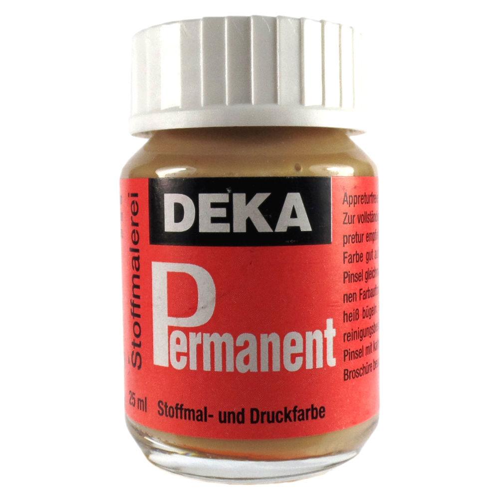 Tygfärg DEKA Perm. 50 ml Sand  2076 (6F)