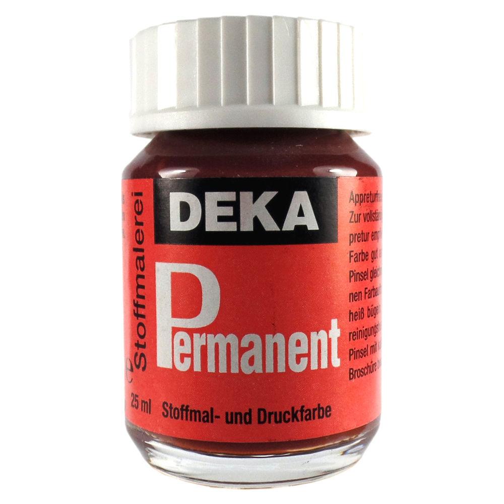 Tygfärg DEKA Perm. 50 ml Ljusbrun  2082 (6F)