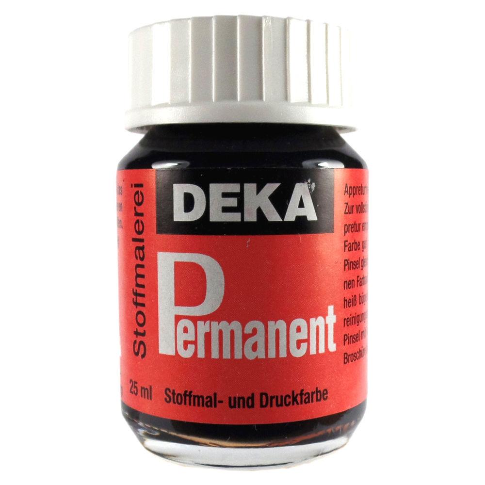 Tygfärg DEKA Perm. 50 ml Svart  2090 (6F)