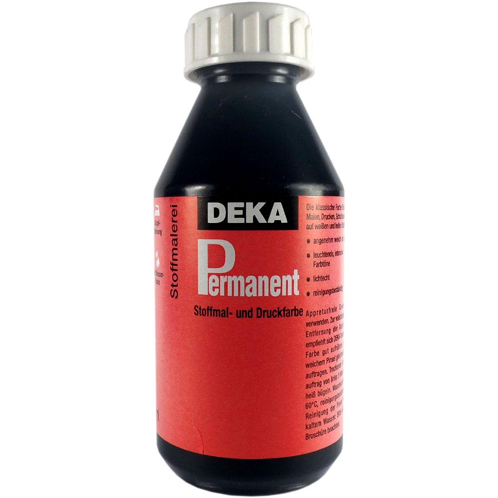Tygfärg DEKA Perm. 125 ml Svart  2090