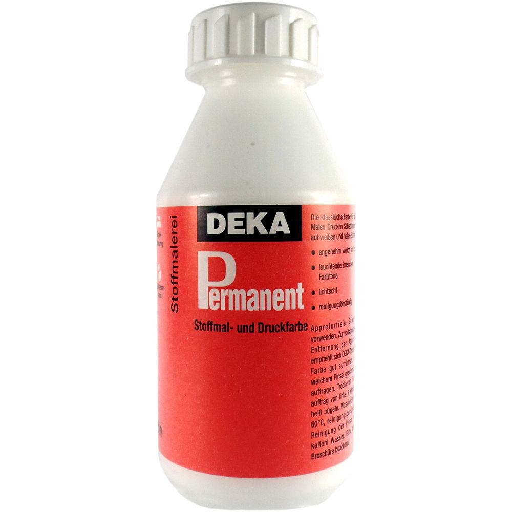 Tygfärg DEKA Perm. 125 ml Vit  2092