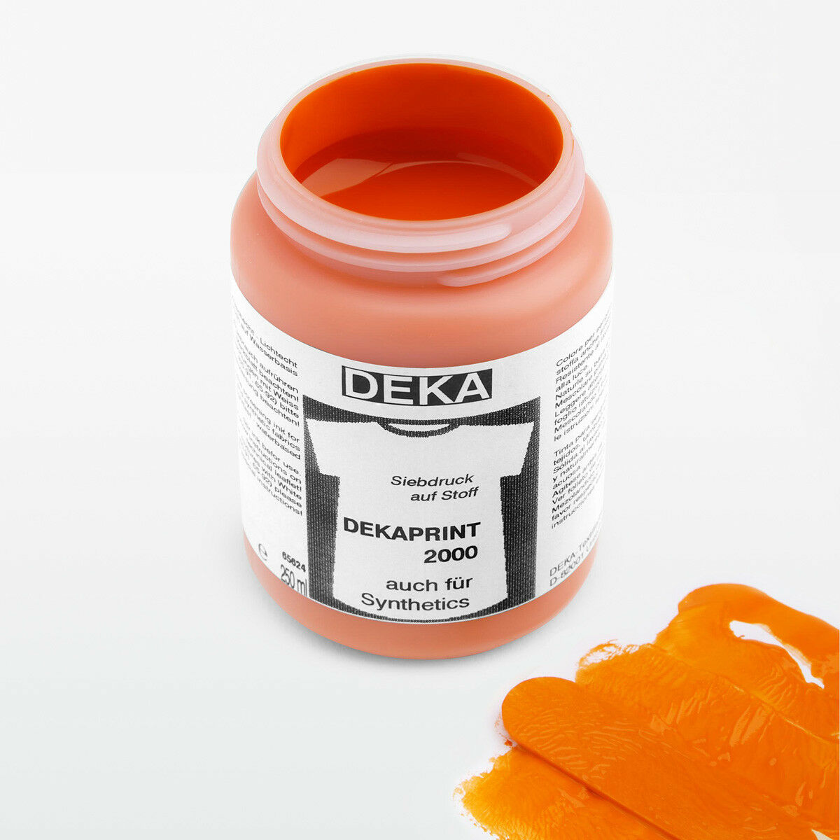 Tygfärg DEKA Print 250 ml Orange 65610