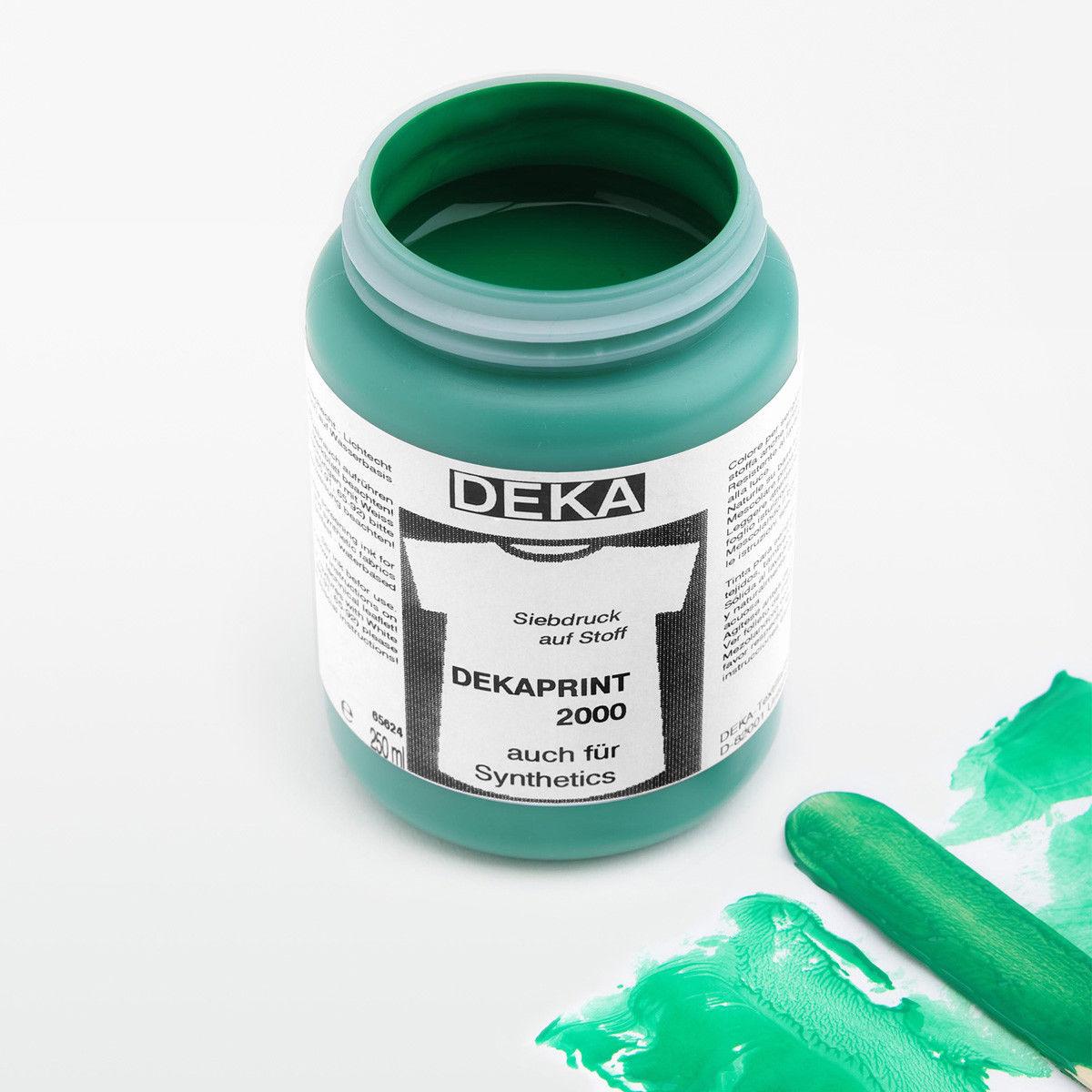 Tygfärg DEKA Print 250 ml Vårgrön 65662