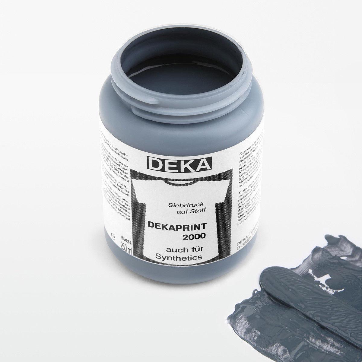 Tygfärg DEKA Print 250 ml Grå 65688