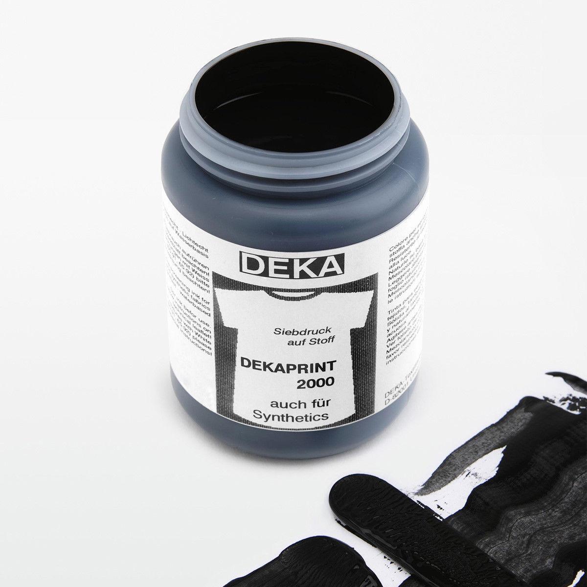Tygfärg DEKA Print 250 ml Svart 65690