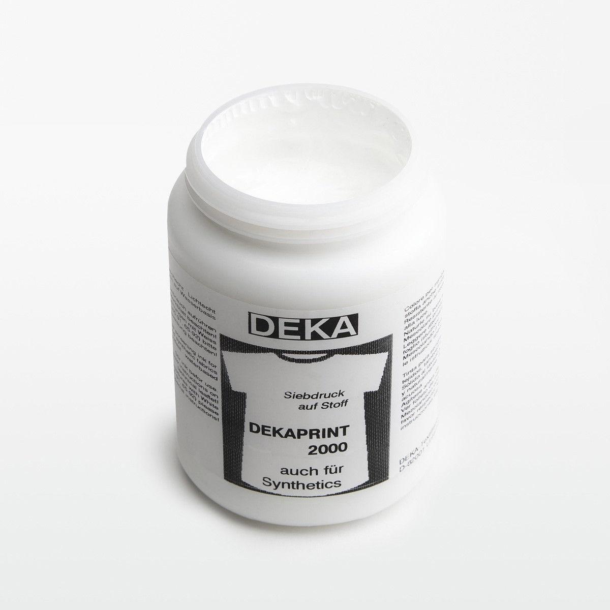 Tygfärg DEKA Print 250 ml Vit 65692