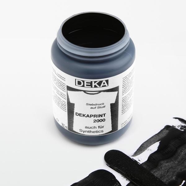 Tygfärg DEKA Print 250 ml Euro Svart  6690