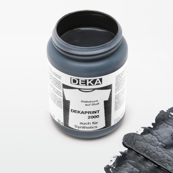 Tygfärg DEKA Print 250 ml Met. Svart  6790
