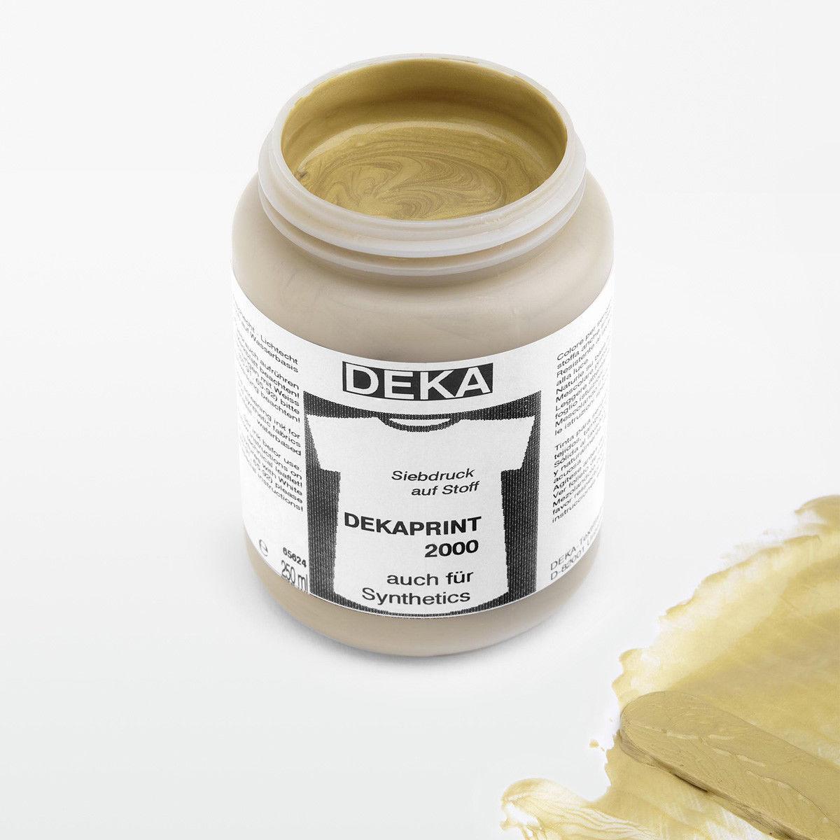 Tygfärg DEKA Print 250 ml Met. Guld  6794
