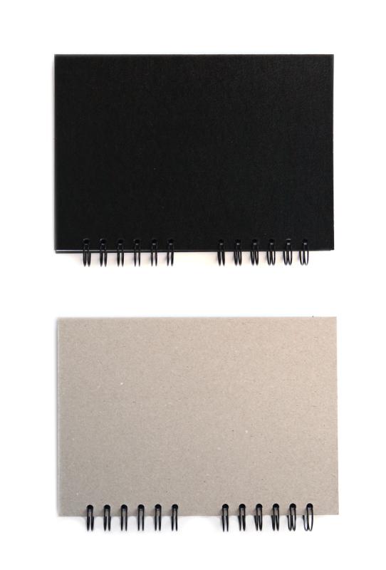 Skissbok Edixon Svart pärm 150g A4 50 ark