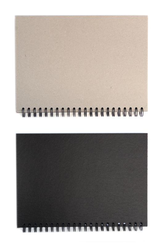 Skissbok Edixon Svart pärm 150g A5 50 ark