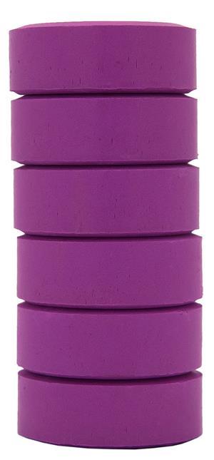 Barnfärg Temperapuck 57x19mm Violett 6-p