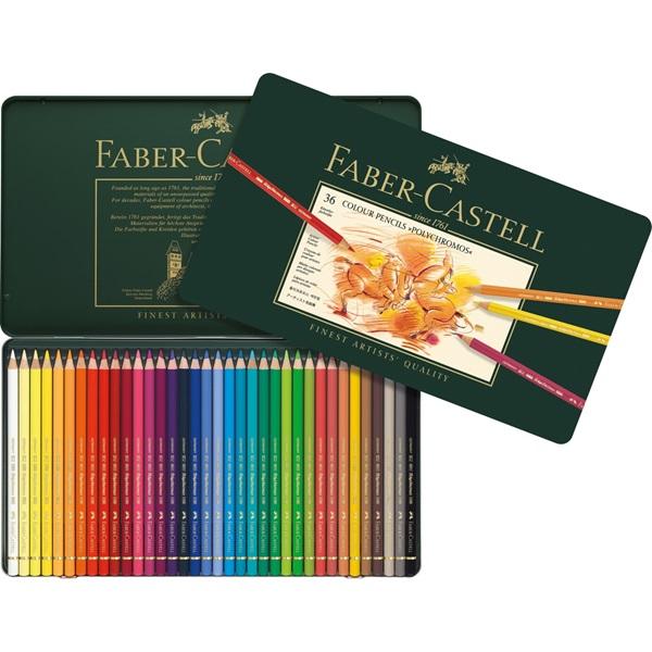 Färgpennset Faber-Castell POLYCHROMOS 36 pennor 9213