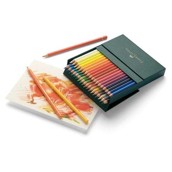 Färgpennset Faber-Castell POLYCHROMOS 36 pennor Studio Box