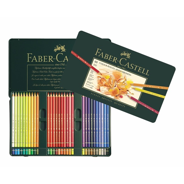 Färgpennset Faber-Castell POLYCHROMOS 60 pennor