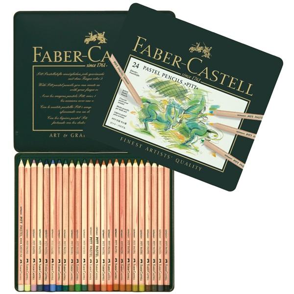 PastellPennset Faber-Castell PITT 24 pennor (2F)
