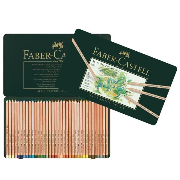 PastellPennset Faber-Castell PITT 36 pennor