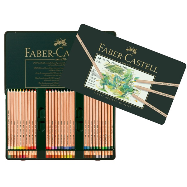 PastellPennset Faber-Castell PITT 60 pennor