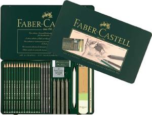 Ritkolspennset Faber-Castell PITT Grafitset Big