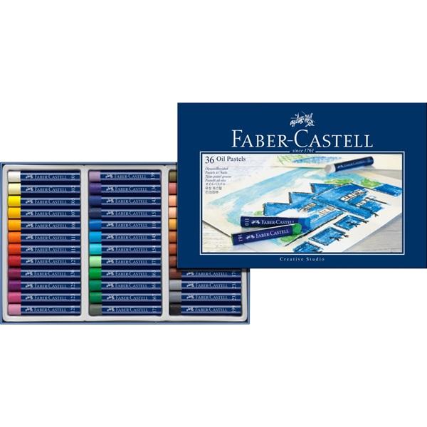 OljePastelset Faber-Castell GoldFaber  Set 36 kritor (2F)