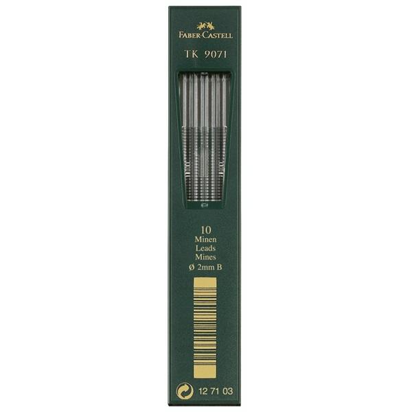 Stift Faber-Castell TK9071 2mm 3B (10F)