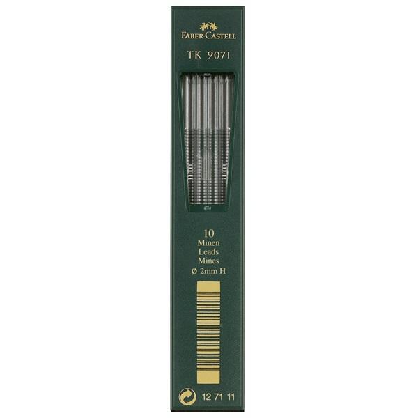 Stift Faber-Castell TK9071 2mm H (10F)