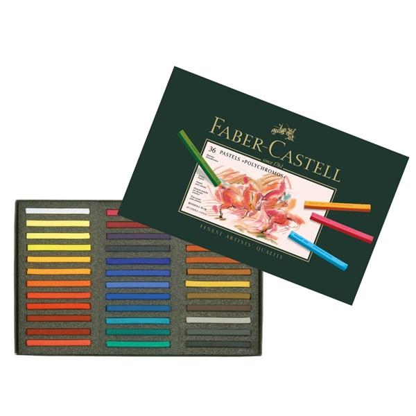 Pastellkritset Faber-Castell POLYCHROMOS Set # 36 Kritor 9283