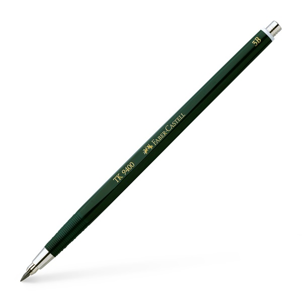 Stiftpenna Faber-Castell CLUTCH TK9400 2mm 3B (5F)