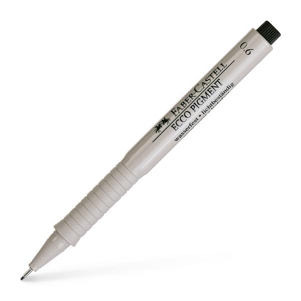 Ritpenna Faber-Castell Ecco Pigment 0,6mm (10F)