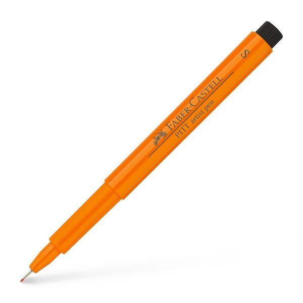 Ritpenna Faber-Castell PITT Artist SuperFine OrangeGlaze 0,3mm (10F)